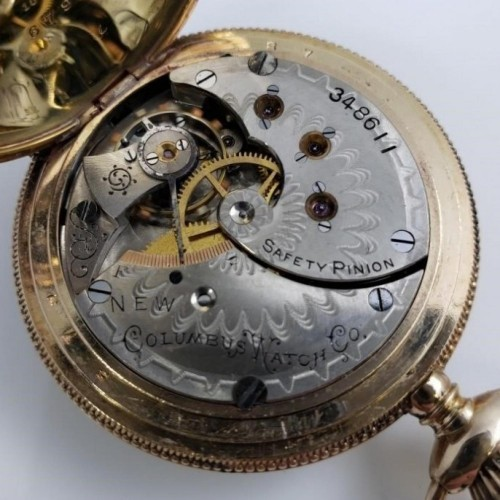 Columbus Watch Co. Grade 22 Pocket Watch Image