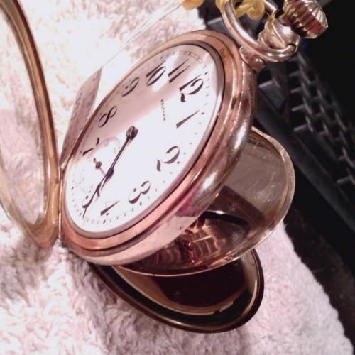 Waltham Grade No. 250 Pocket Watch Image