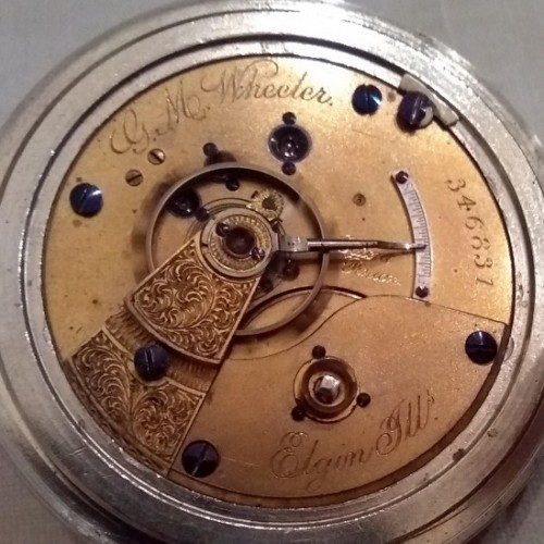Elgin Grade 63 Pocket Watch Image