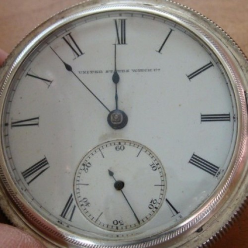 U.S. Watch Co. (Marion, NJ) Grade Wm. Alexander Pocket Watch Image
