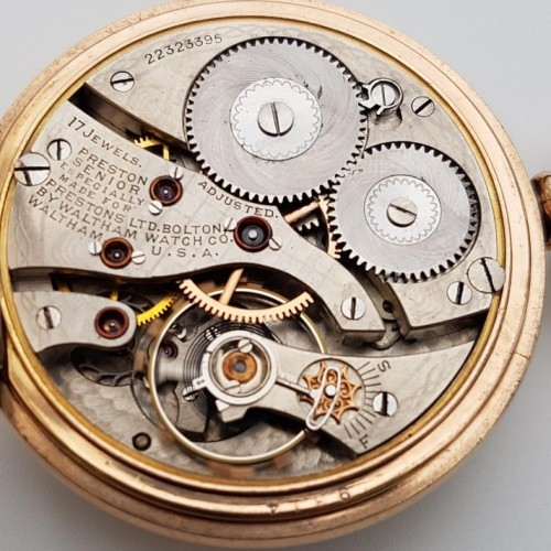 Waltham Grade No. 641 Pocket Watch Image