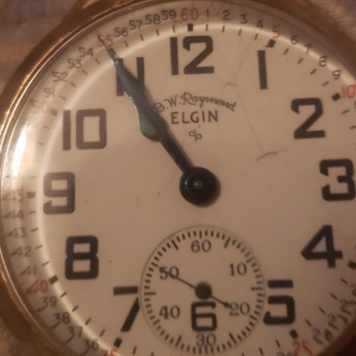 Image of Elgin 571 #P802982 Dial