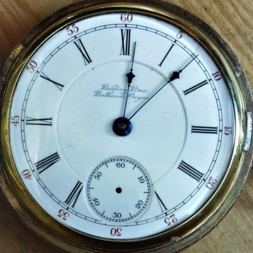 Hamilton Grade 929 Pocket Watch Image