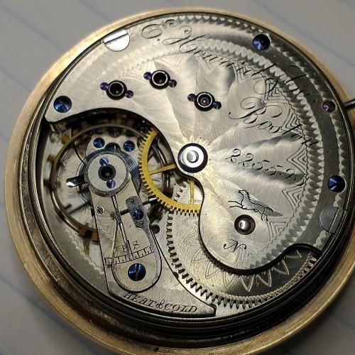 E. Howard & Co. Grade Horse Pocket Watch