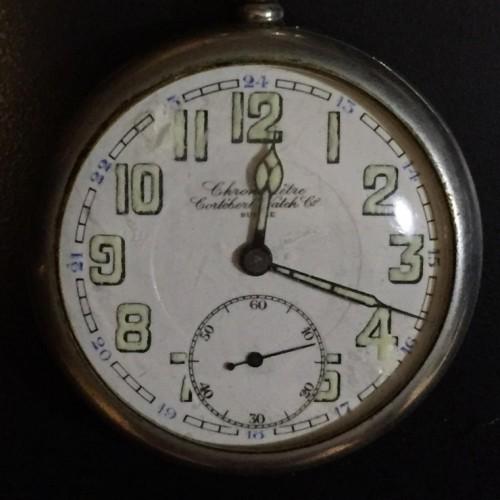 Other Grade Chronometre Cortebert Pocket Watch Image