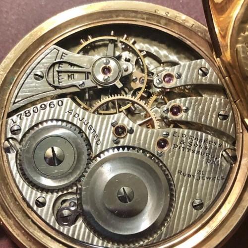 Illinois Grade 299 Pocket Watch