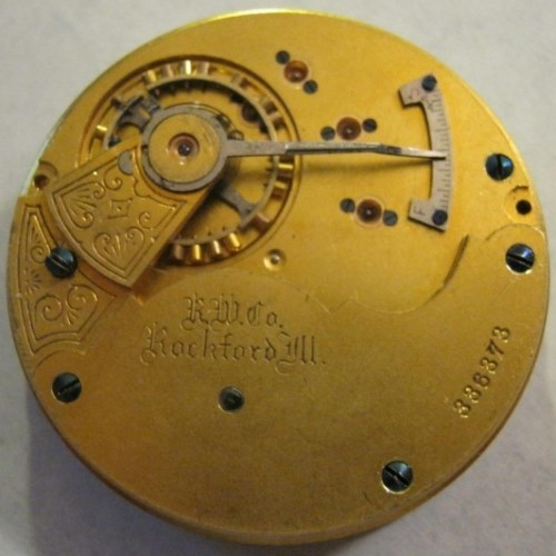Rockford Grade 68 Pocket Watch Image