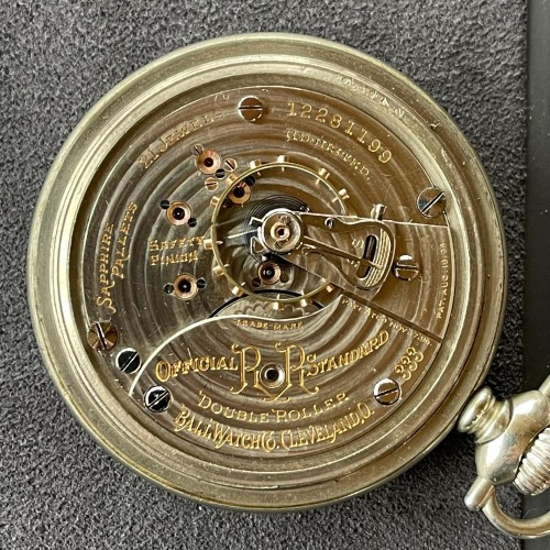 Ball Grade 334 Pocket Watch Image