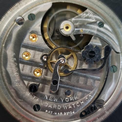 New York Standard Watch Co. Grade 164 Pocket Watch Image