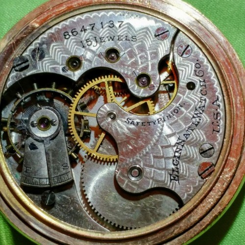Elgin Grade 216 Pocket Watch Image