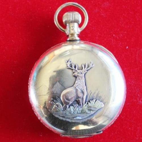 Adams & Perry Watch Manufacturing Co. Grade  Pocket Watch Image