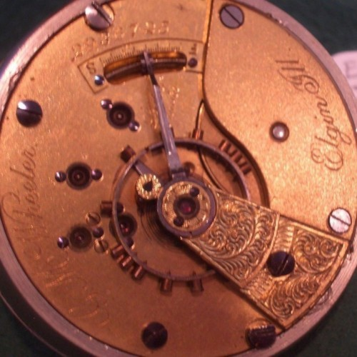 Elgin Grade 82 Pocket Watch Image