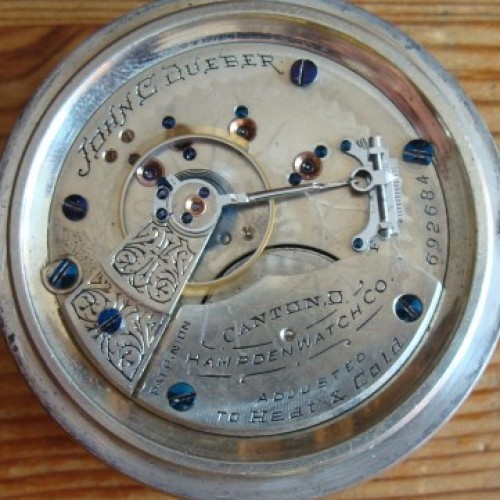 Hampden Grade John C. Dueber Pocket Watch Image
