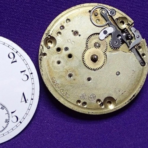 Omega Watch Co. Grade  Pocket Watch Image