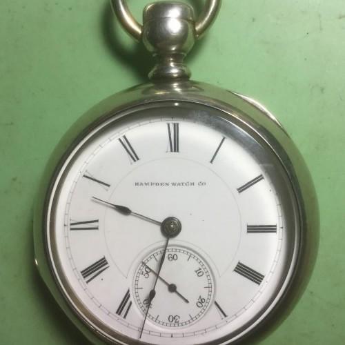 Hampden Grade Hayward Pocket Watch Image