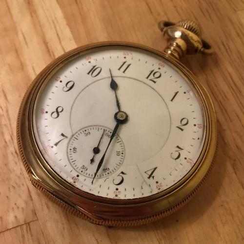 Hamilton Grade Hayden W. Wheeler Pocket Watch