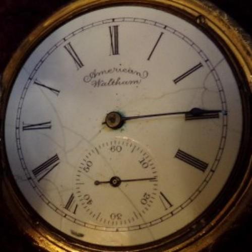 Waltham Grade J Pocket Watch Image