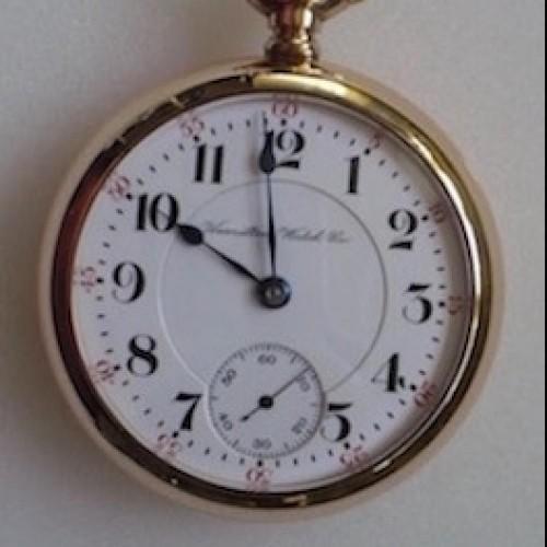 Hamilton Grade 946 Pocket Watch Image