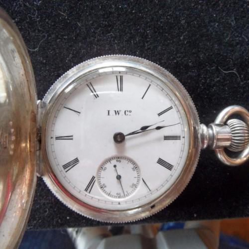Illinois Grade I.W.C. Pocket Watch Image