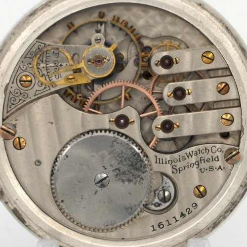 Illinois Grade 183 Pocket Watch Image