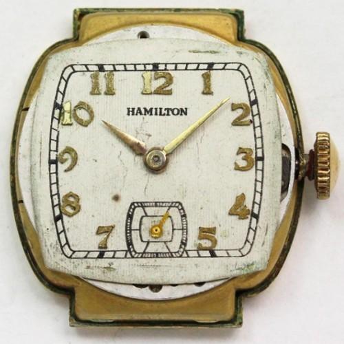 Hamilton Grade 987A Pocket Watch Image