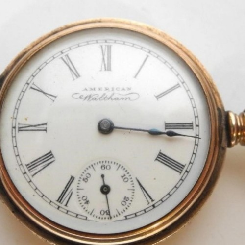 American Watch Co. Grade waltham watch co Pocket Watch Image