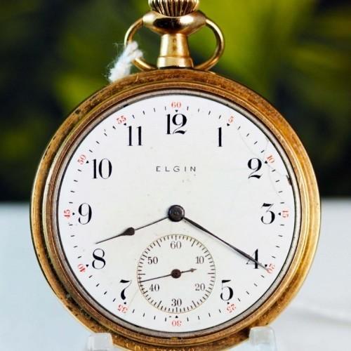 Elgin Grade 197 Pocket Watch Image
