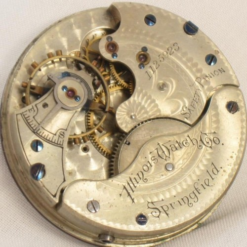 Illinois Grade 112 Pocket Watch Image