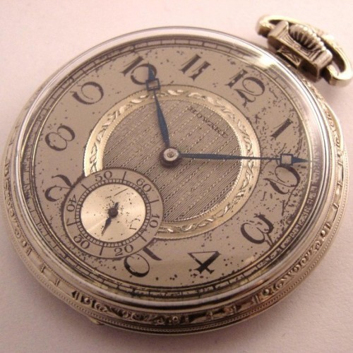 E. Howard Watch Co. (Keystone) Grade Series 12 Pocket Watch Image