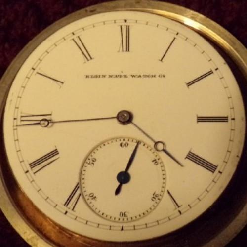 Elgin Grade 48 Pocket Watch Image