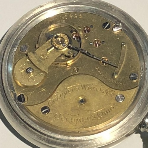 Columbus Watch Co. Grade 32 Pocket Watch Image