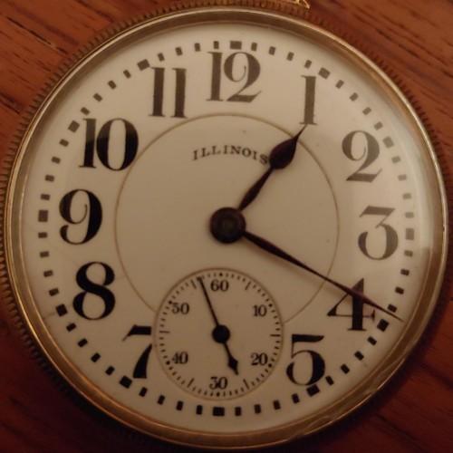 Illinois Grade 305 Pocket Watch Image