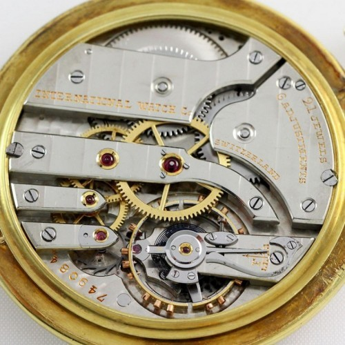 International Watch Co. Grade  Pocket Watch Image