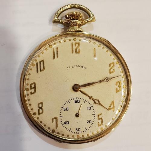 Illinois Grade 525 Pocket Watch Image