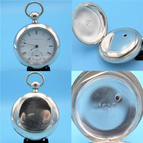 Illinois Grade Mason Pocket Watch Image