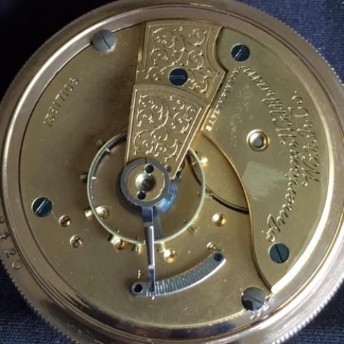 Waltham Grade No. 18 Pocket Watch Image