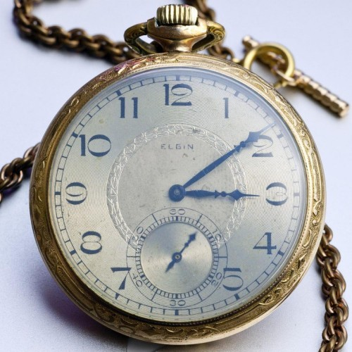 Elgin Grade 477 Pocket Watch Image