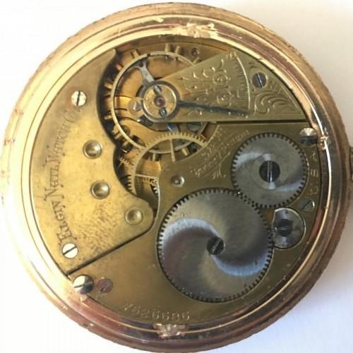 Elgin Grade 157 Pocket Watch Image