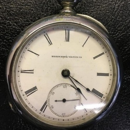 Elgin Grade 13 Pocket Watch Image