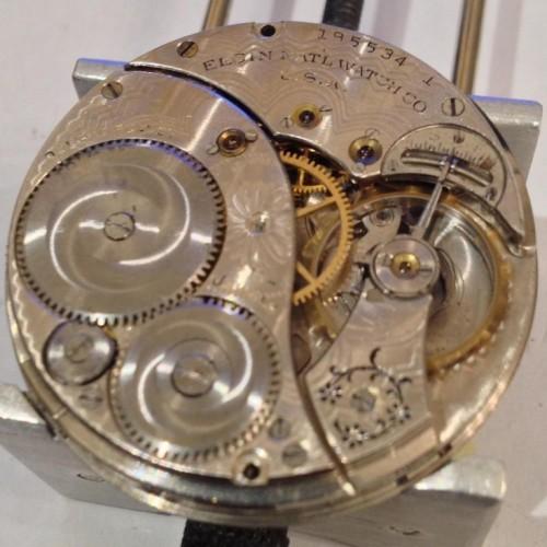 Elgin Grade 315 Pocket Watch