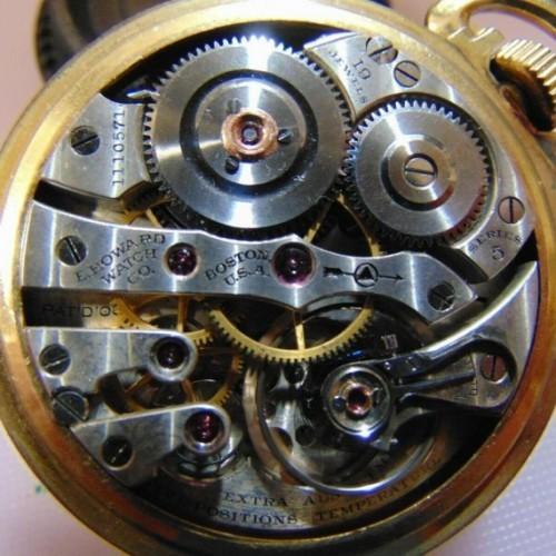 Image of E. Howard Watch Co. (Keystone) Series 5 #1110571 Movement