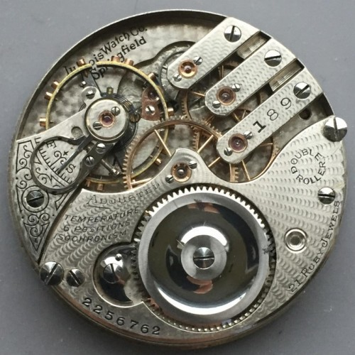 Illinois Grade 189 Pocket Watch Image