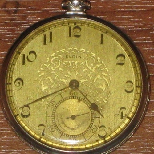 Elgin Grade 479 Pocket Watch Image