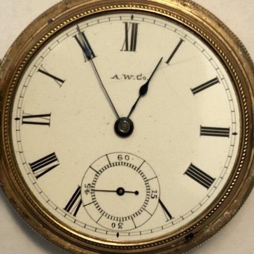 Waltham Grade Sterling Pocket Watch Image