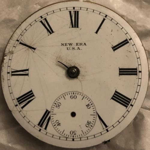 New York Standard Watch Co. Grade New Era 60 Pocket Watch Image