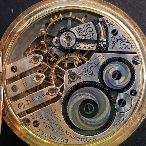Elgin Grade 340 Pocket Watch Image
