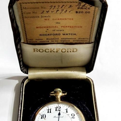 Rockford Grade 635 Pocket Watch Image