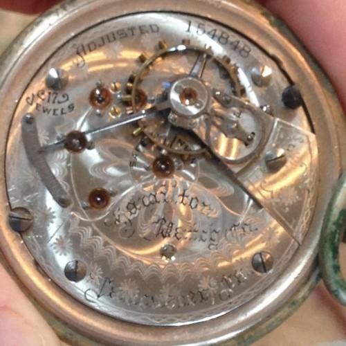 Hamilton Grade 936 Pocket Watch Image