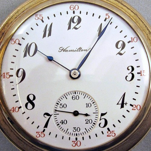Hamilton Grade 975 Pocket Watch