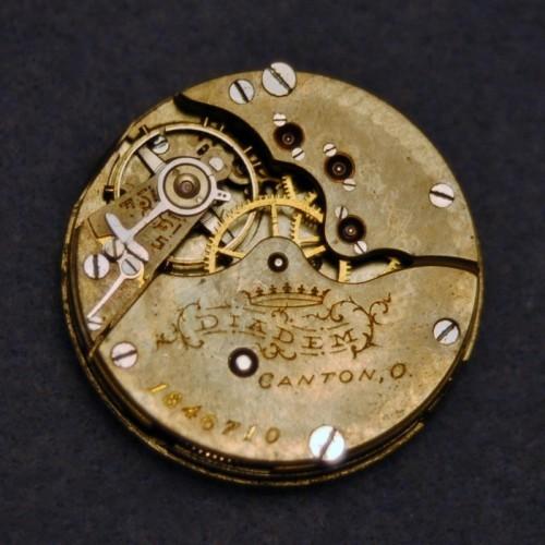 Hampden Grade Diadem Pocket Watch Image